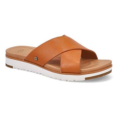 Lds Kari natural casual slide sandal
