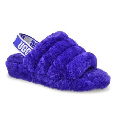 Pantoufle mouton Fluff Yeah, violet, fem