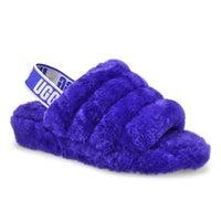Pantoufle en mouton Fluff Yeah, violet, femme