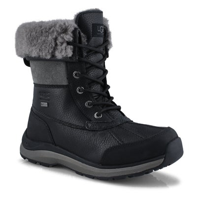 Women's ADIRONDACK III  black winter boots