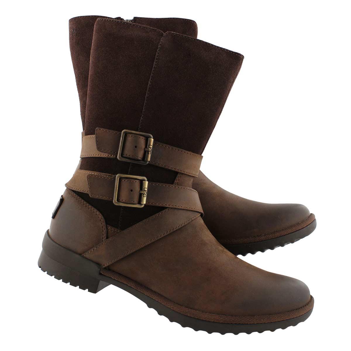 Women's Lorna Side Zip Waterproof Boot - Coconut