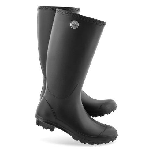 Lds Shelby Matte black wtpf rain boot