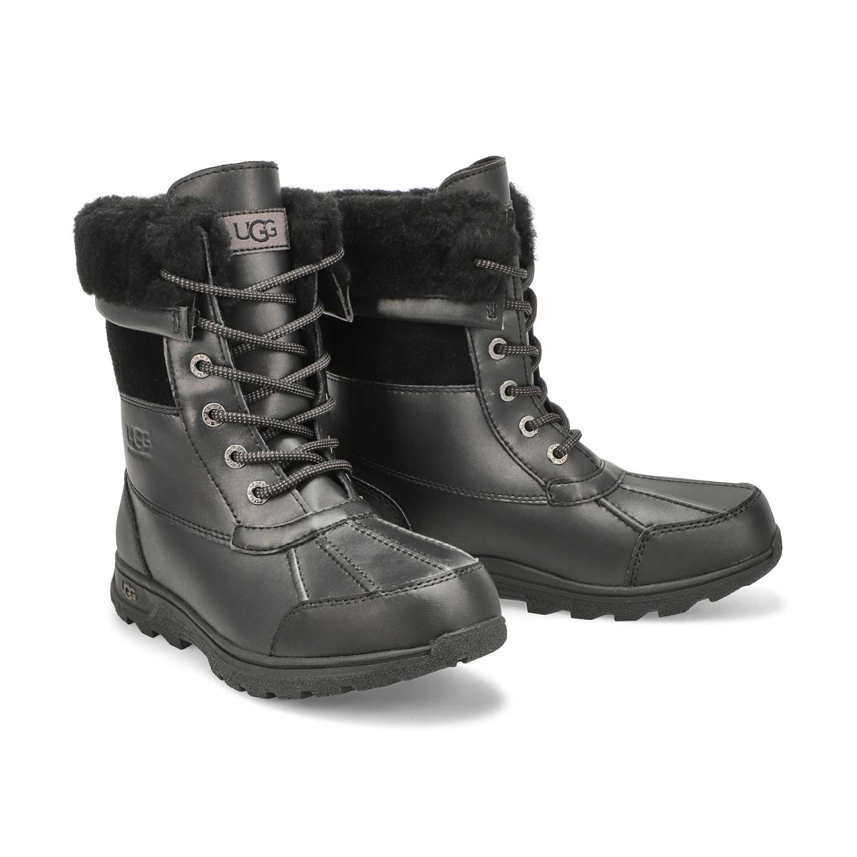 Kid's Butte II CWR Waterproof Winter Boot - Black