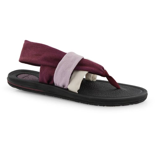 Lds Yoga Sling 3 grdnt prn thong sandal