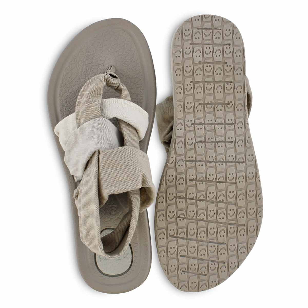 Women's YOGA SLIING 3 gradient peyote thong sandal