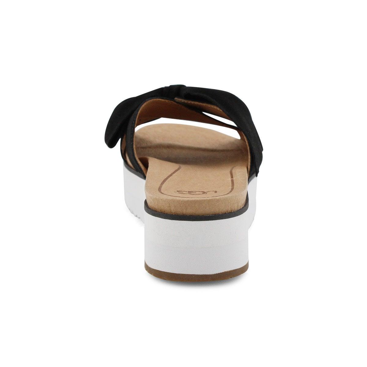 Women's JOAN II black casual slide sandals