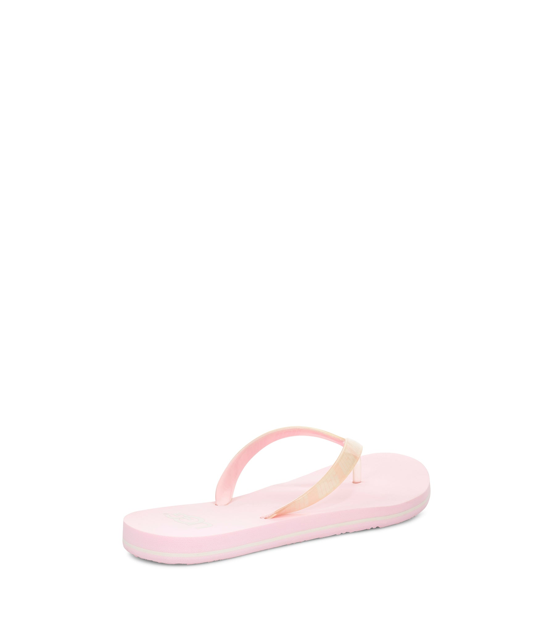 Women's SIMI GRAPHIC pink thong sandals