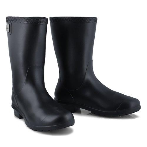 Lds Sienna Matte black wtpf rain boot