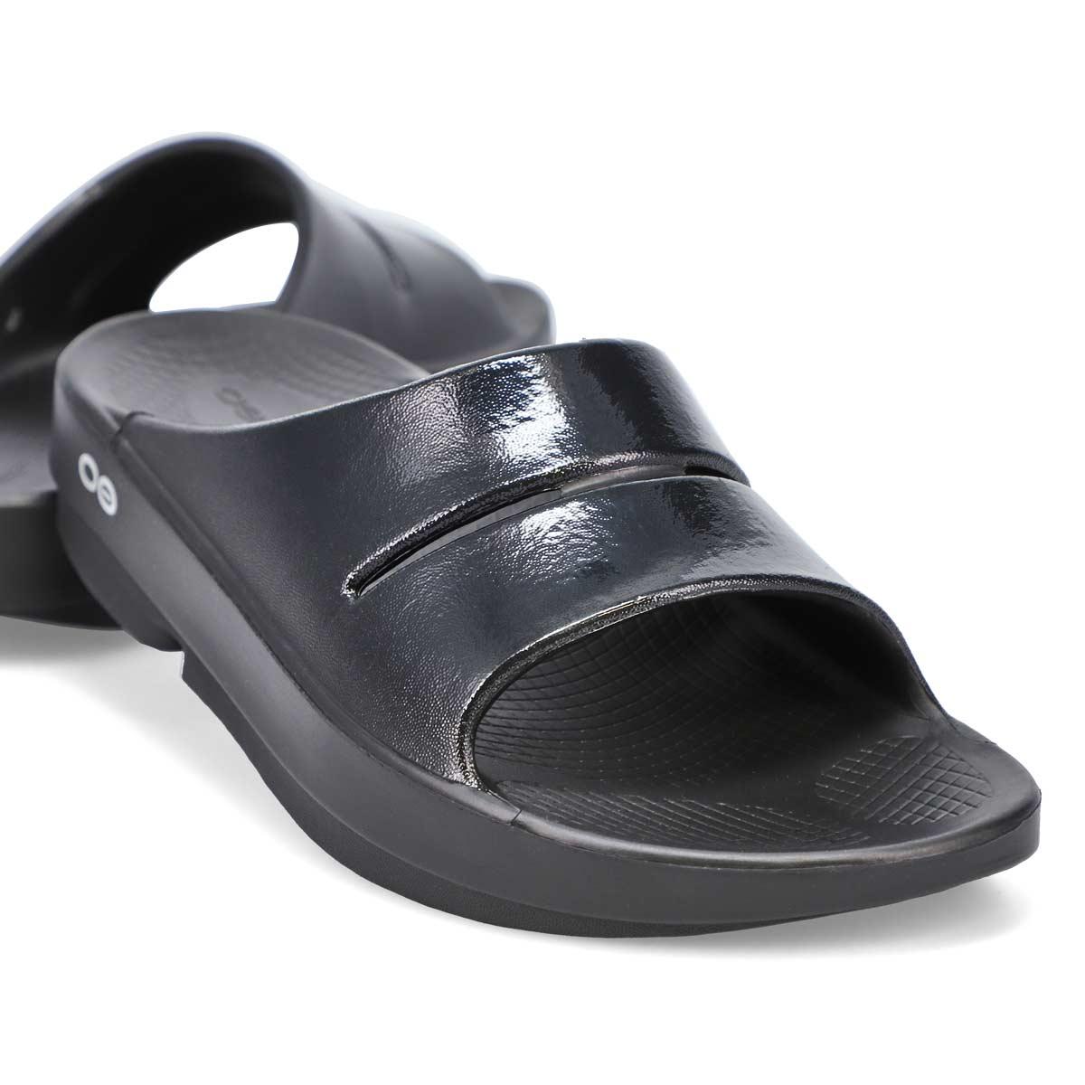 Women's Ooahh Luxe Sandal - Black