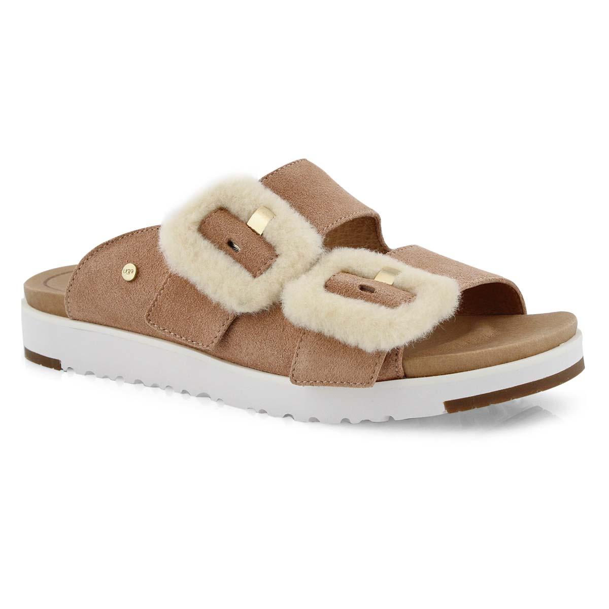 Women's FLUFF INDIO arroyo casual slide sandals