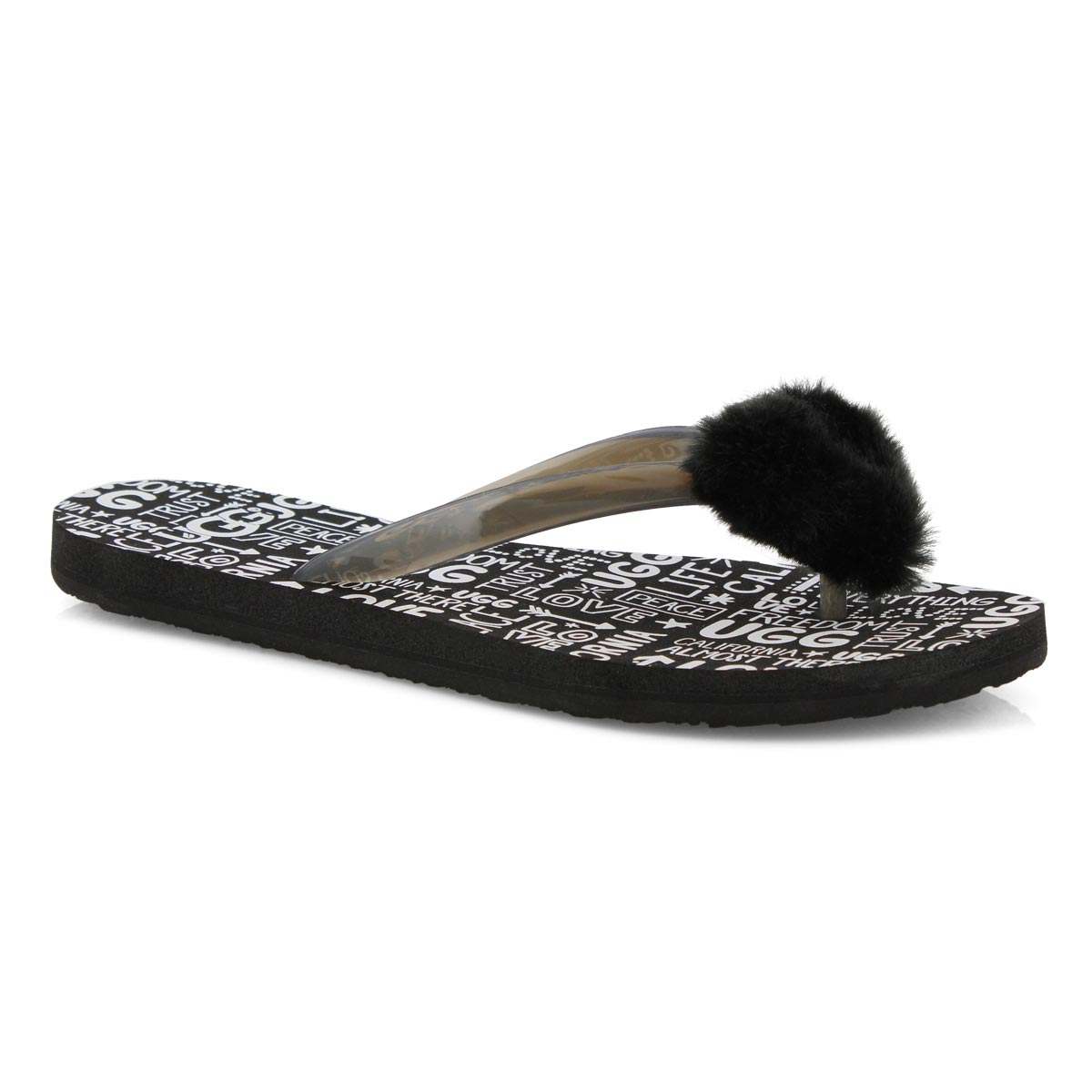 Women's SIMI FLUFF MANIFESTO thong sandals