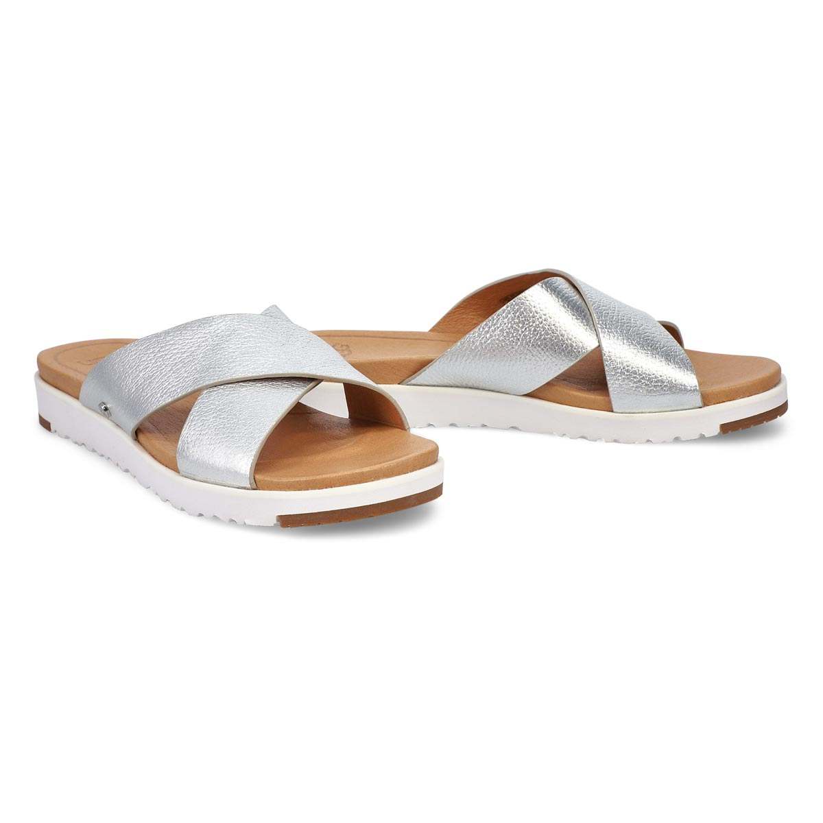 Women's Kari Slide Sandal - Metallic Silver