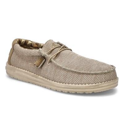 Mns Wally Sox Casual Shoe-Beige