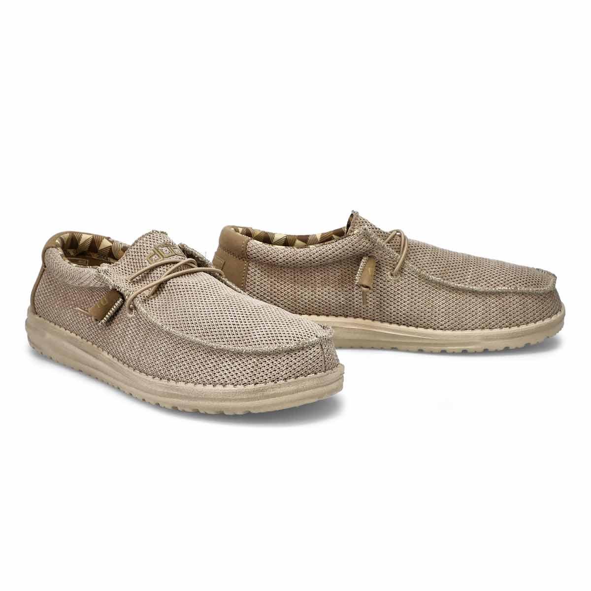 Men's Wally Sox Shoes - Beige
