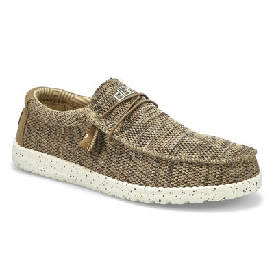 Mns Wally Sox Casual Shoe - Brown