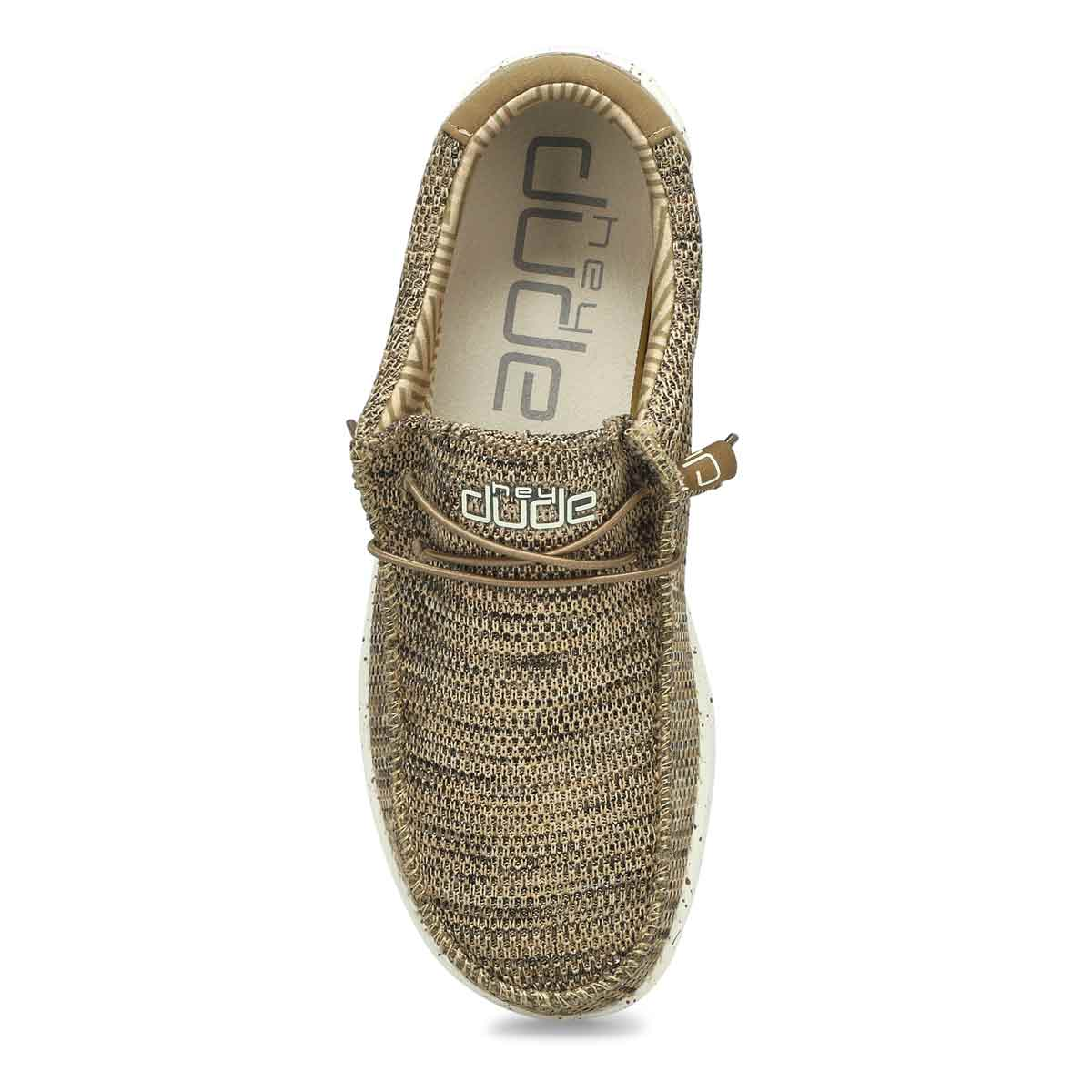 Men's Wally Sox Casual Shoe - Brown