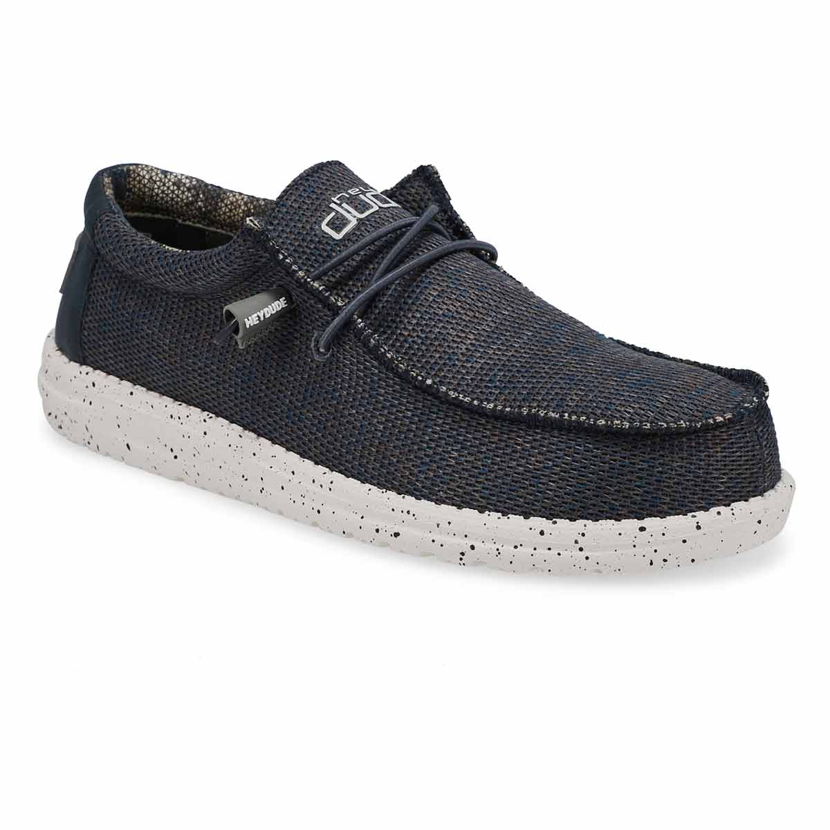 Men's Wally Sox Casual Shoe - Navy/Grey