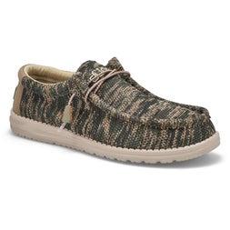 Mns Wally Sox woodland camo casual shoe
