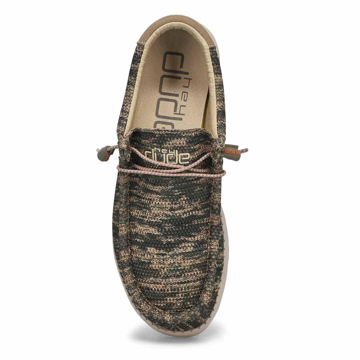 Men's Wally Sox Casual Shoe -  Woodland Camo