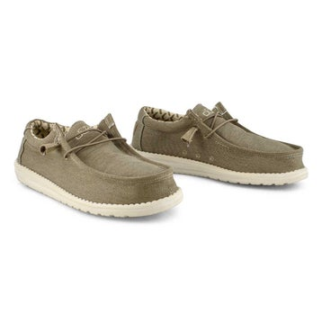 Men's WALLY STRETCH  tobacco casual shoes