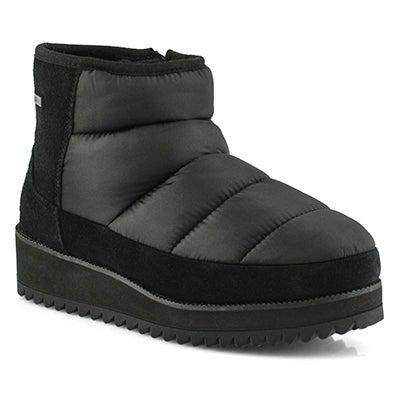 Lds Ridge Mini blk waterproof ankle boot