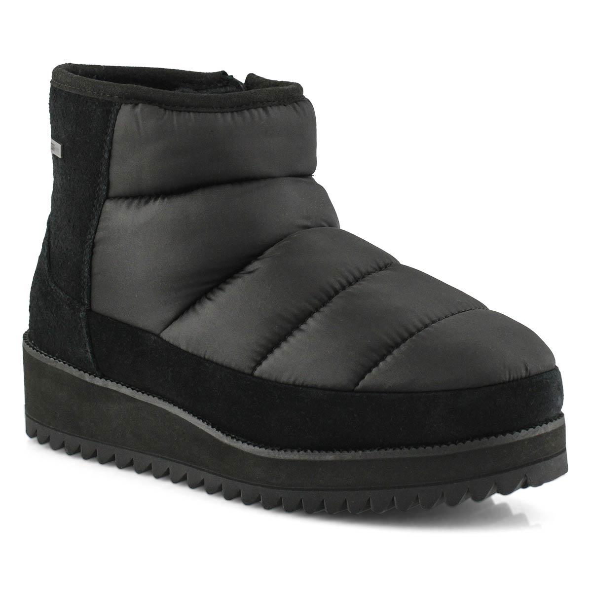 Women's Ridge Mini Waterproof Ankle Boot - Black