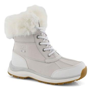 Women's ADIRONDACK III FLUFF white winter boots