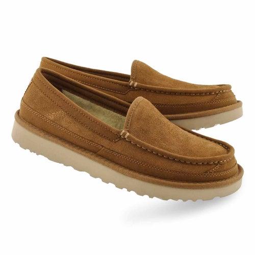 Mns Dex chestnut slip on shoe