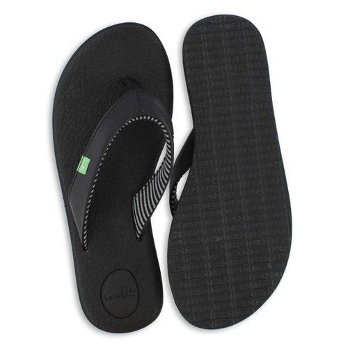 Lds Yoga Chakra black flip flop