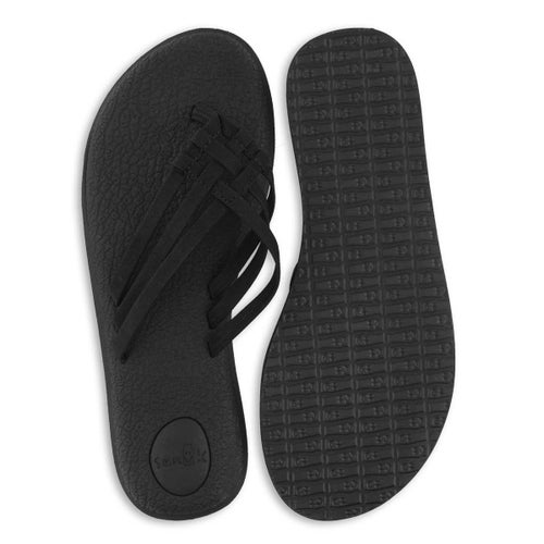Lds Yoga Salty black flip flop