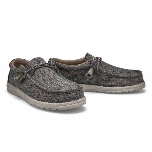 Mns Wally Woven carbon casual shoe