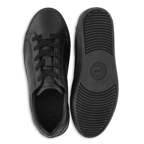 Lds Zilo black lace up sneaker
