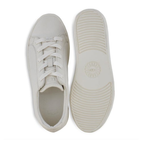 Lds Zilo white lace up sneaker