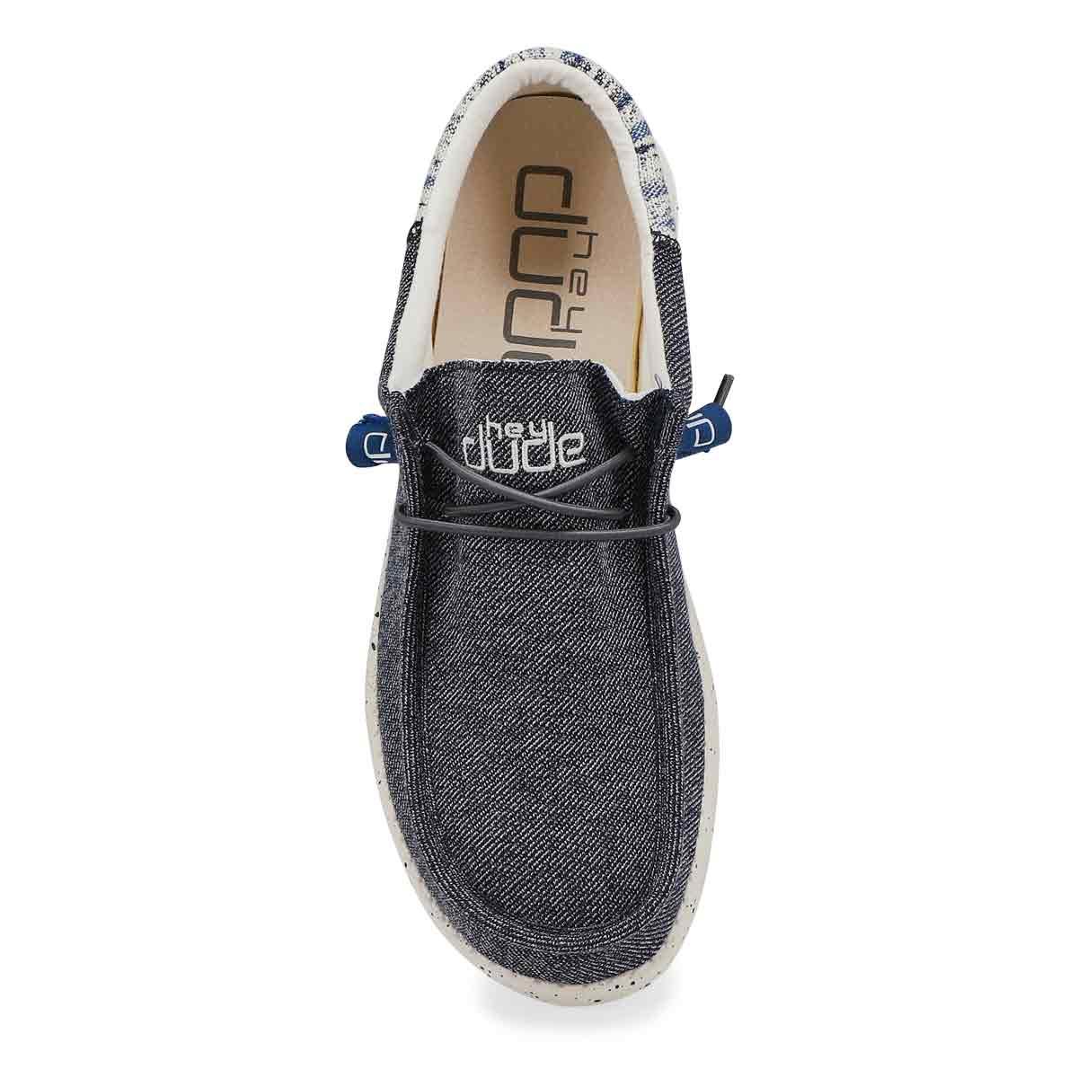 Men's Wally Funk Casual Shoe - Galaxy Blue