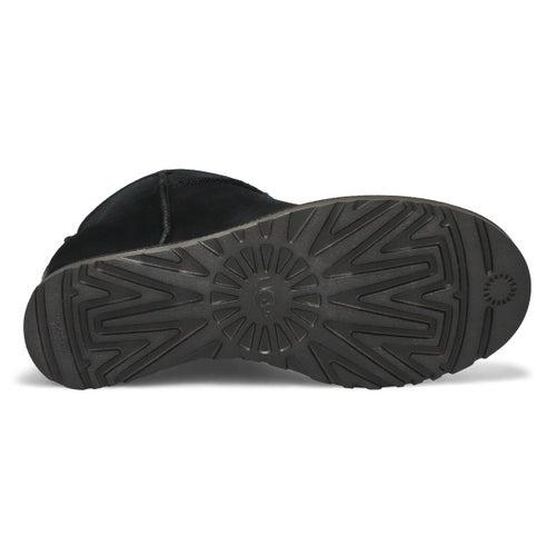 Lds Classic Femme Mini blk shpskn boot