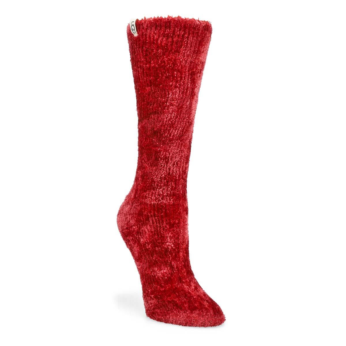 Chaussettes  LEDA COZY, rouge,fem