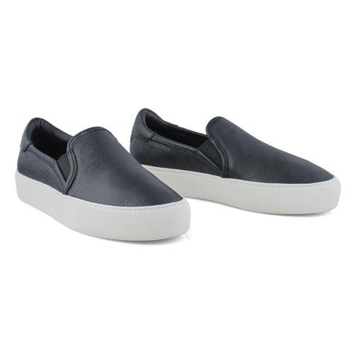 Lds Jass black slip on shoe
