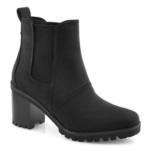Lds Hazel black slip on wtpf bootie
