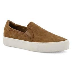 Lds Jass chestnut slip on shoe
