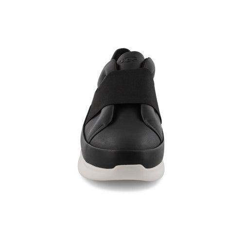 Lds Libu black slip on sneaker
