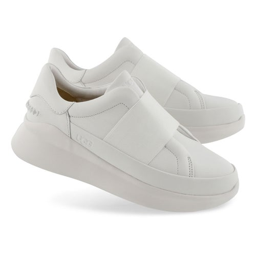 Lds Libu white slip on sneaker