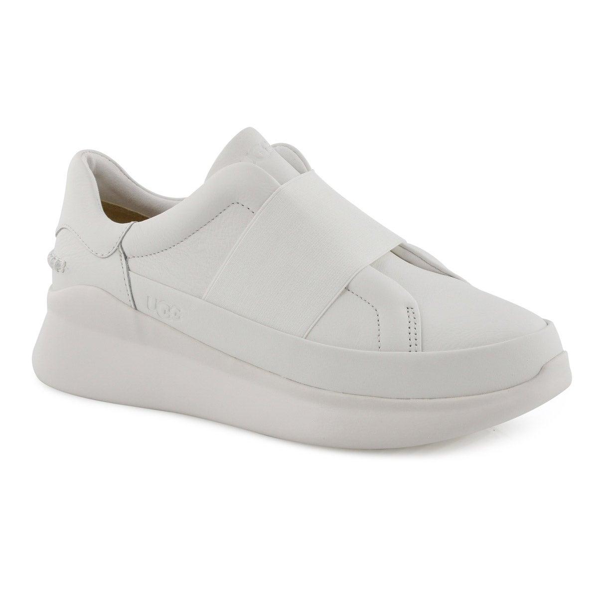 Lds Libu white slip on sneaker