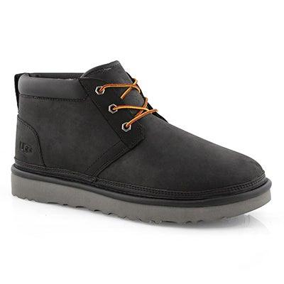 Mns Neumel Utility blk lined chukka boot