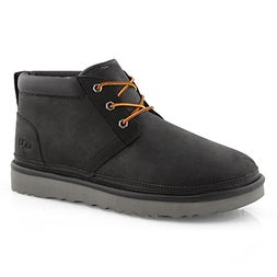 Mns Neumel Utility blk lined chukka boot