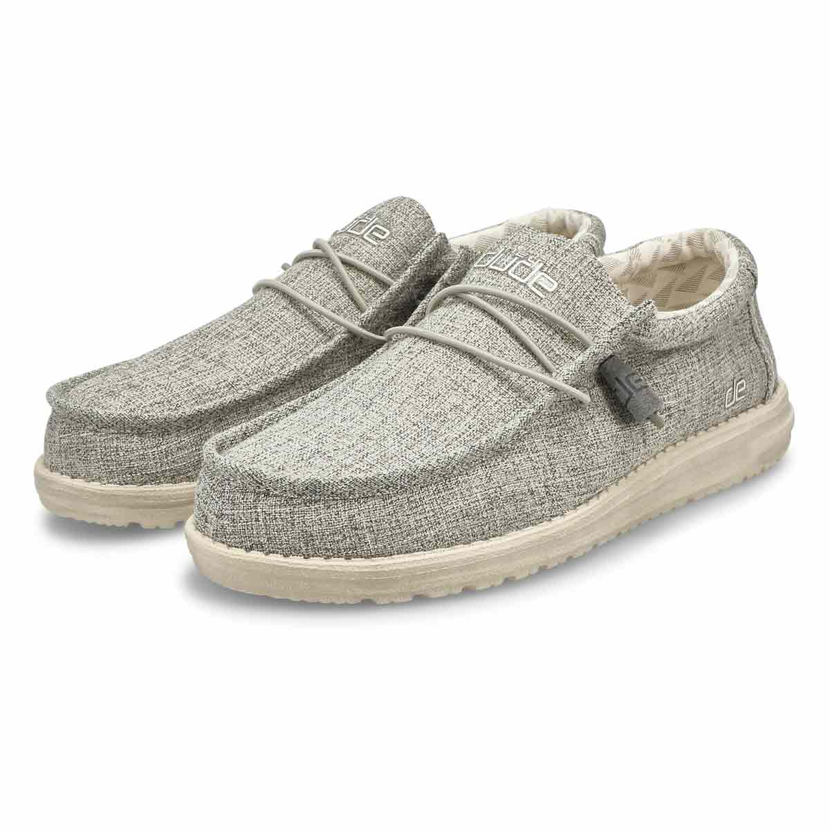 Men's Wally Linen Shoe -  Iron