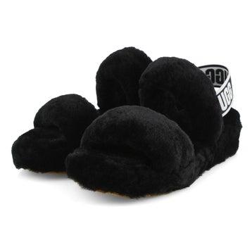 Women's Oh Yeah Sheepskin Slipper - Black