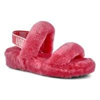 Women's Oh Yeah Sheepskin Slipper - Strawberry