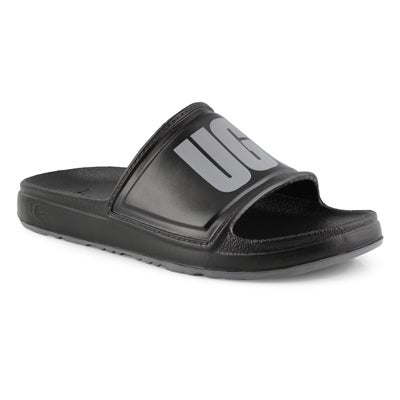 Men's WILCOX black slide sandals