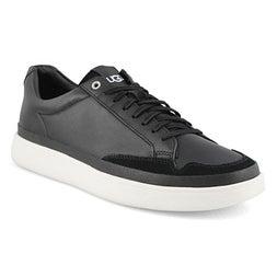 Mns South Bay black lace up sneaker