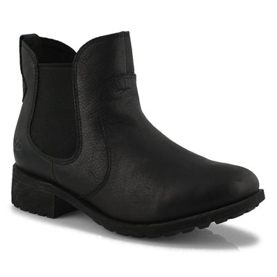 Women's BONHAM III  black waterproof chelsea boots